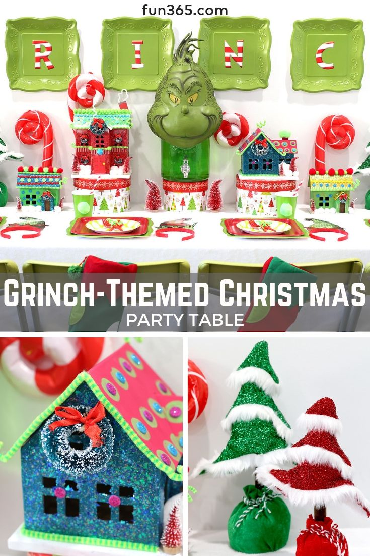 throw your own merry grinchmas party this year and include the rh pinterest com