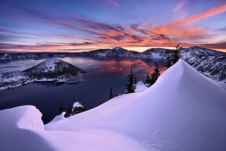Crater Lake by Alan Howe: Sky Photography, Oregon Lakes, Crater Lakes Oregon, Lakebyalan Howe, Lakes National, National Parks, Nice Places, Crater Lakebyalan, Natural