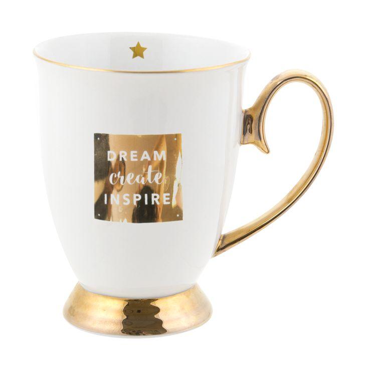Dream Create Inspire 'Words of Wisdom' Mug