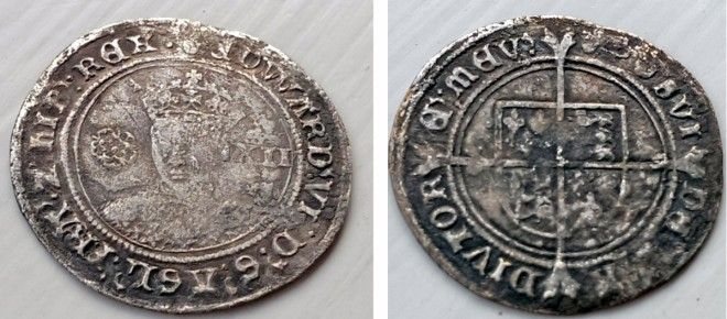 Lost 16th Century Tudor Shilling Could Mean the British Discovered Canada