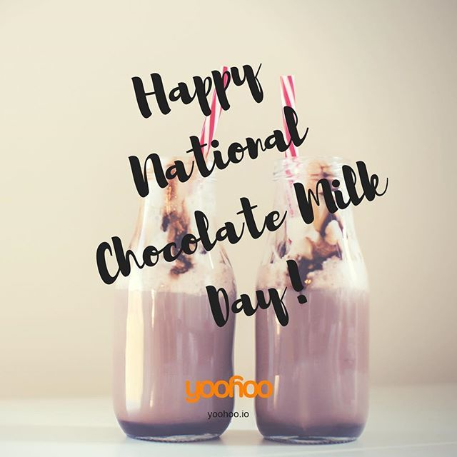 Happy National Chocolate Milk Day Make Sure You Grab A Glass Tag A Milk Chocolate Fan Free Deals D Chocolate Fan Chocolate Milk Chocolate