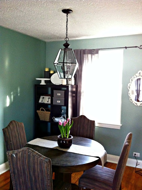 Transforming a cheap light fixture into a Pottery Barn look-a-like