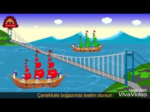 Türklerin gemisi kırmızı direkli - YouTube