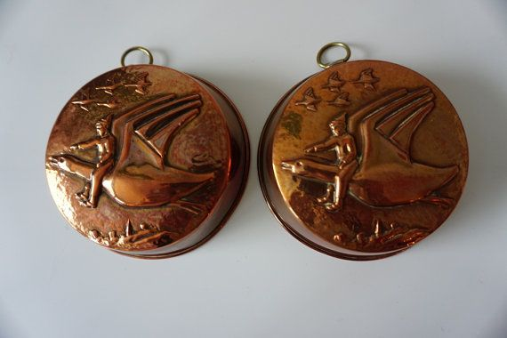A Swedish Vintage Copper Mold with Nils by ScandicDiscovery
