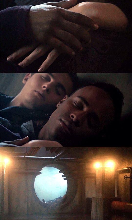 Teen Wolf #5x19 • The Beast of Beacon Hills • Mason & Corey (1 Mar 2016)