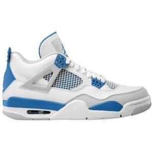 differently 84fc6 69983 Jordan Retro 4 - Mens - Basketball - Shoes - WhiteMilitary BlueNeutral ...