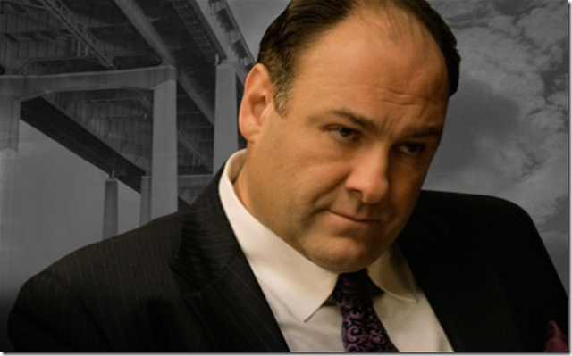 James Gandolfini as Tony Soprano (The Sopranos)