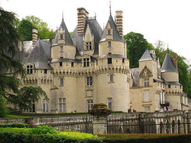 Château d'Ussé ~ Indre-et-Loire ~ Touraine ~ Loire Valley ~ France ~ Charles Perrault's inspiration for Sleeping Beauty.