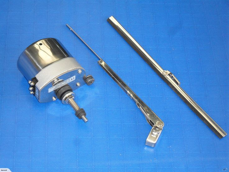 Windscreen Wiper motor, 440mm arm & blade   Trade Me