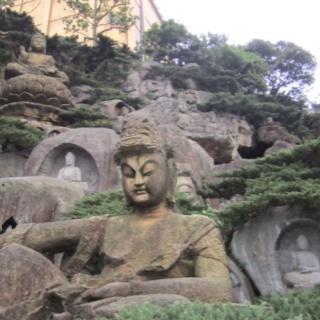 Hillside carvings, Teresa Teng's grave site, Taiwan