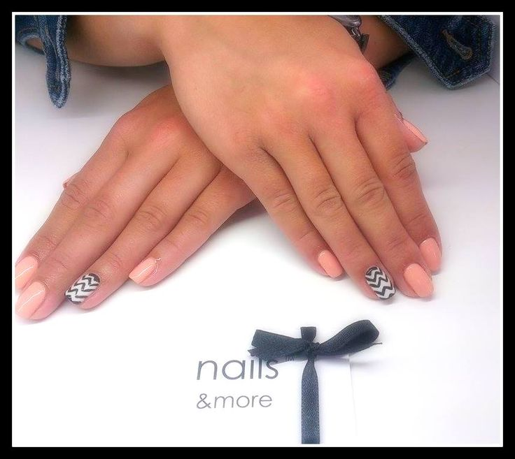 zig zag mani, nails&more, nails art