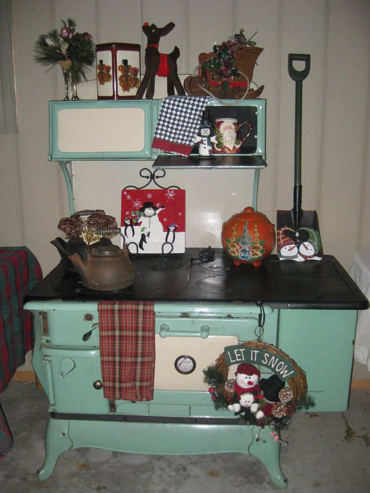 Pin by Carol Witulski on Antique wood burning cook stove ...