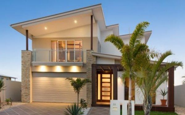 25 best ideas about beach house plans on pinterest for Double storey beach house designs