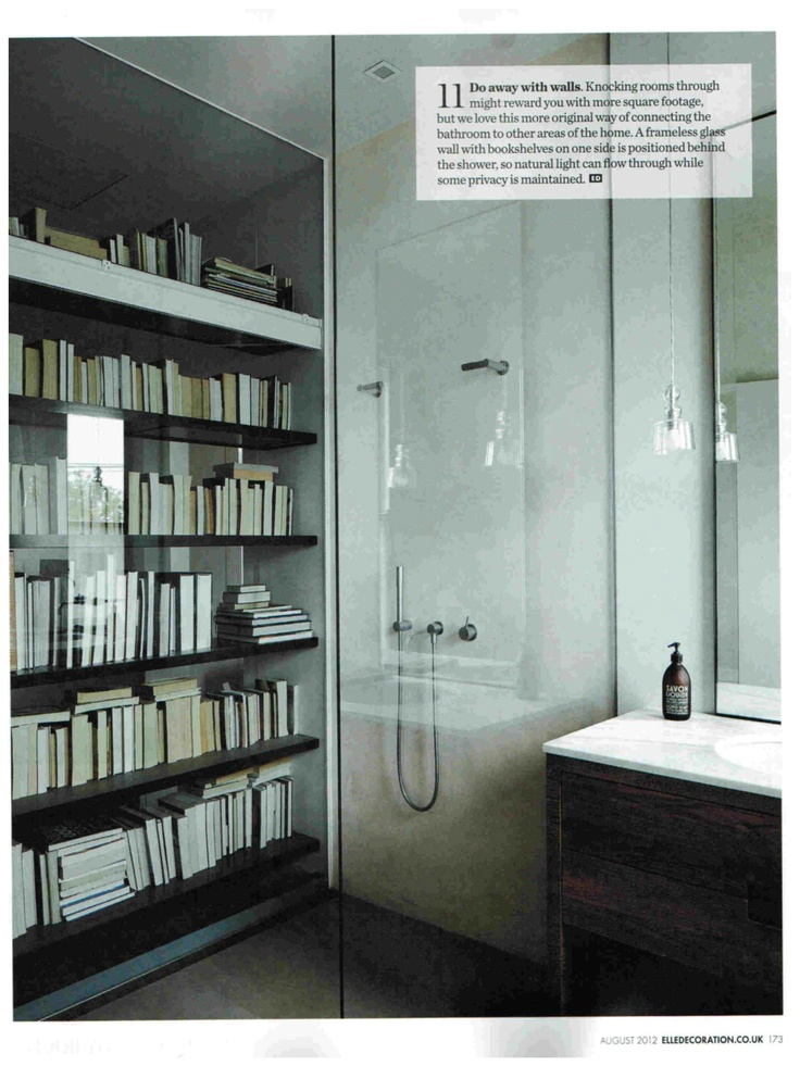 Elle Decoration August 2012. Compagnie de Provence Version Originale Liquid Soap