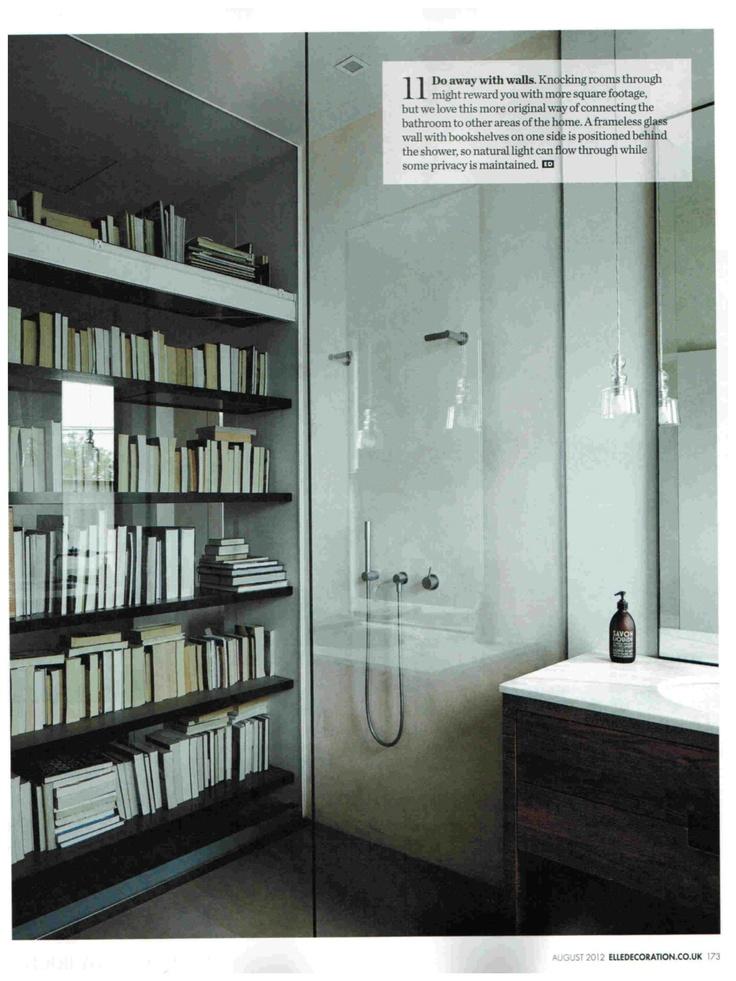 Elle Decoration August 2012. Compagnie de Provence Version Originale Liquid Soap