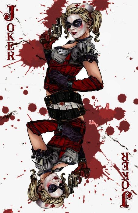 Harley Quinn: Jokers Cards, Quinn Character, Arkham Asylum, Harleyquinn, Batman Jokers, Accessories Cases, Dr. Quinn, Quinn Wildcards, Harley Quinn