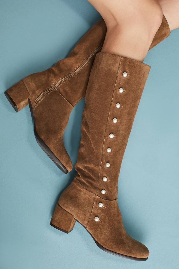 at Anthropologie -  Knee-High Riding Boots
