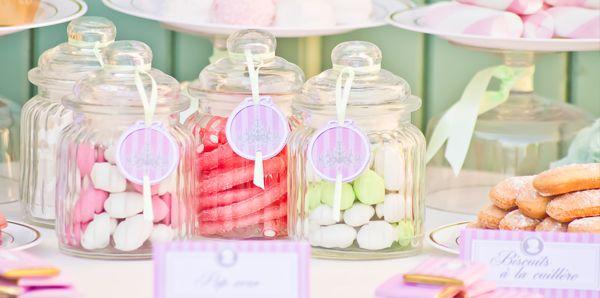 Bonbonnières candy bar