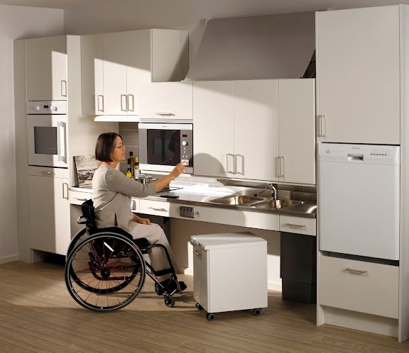 Adapted Kitchens For Disabled   Google Search