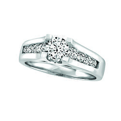 14k Gold And Diamond Ring Fire Ice Canadian