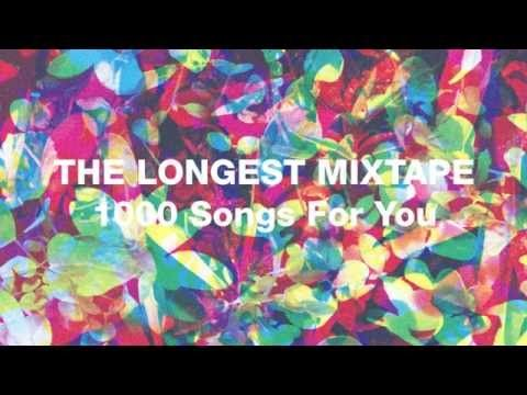 The Longest Mixtape - 1000 Songs For You by Dan Snaith of Caribou.