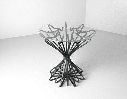 "Check out new work on my @Behance portfolio: ""metal side table"" http://be.net/gallery/54490845/metal-side-table"