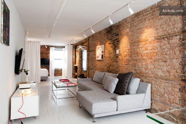 SOHO CONTEMPORARY DESIGNER LOFT w: Nowy Jork 23$ discount www.airbnb.pl/c/kkuhn4