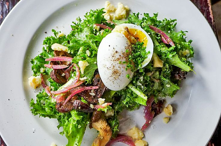 Montana's Trail House - Old Germania Heights, Brooklyn - for savory dishes such as the mushroom and chicory salad.