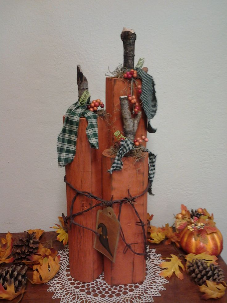 Pinterest Primitive Fall Craft Ideas