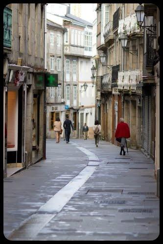 Rúa san Pedro. Lugo in #Galicia - Spain