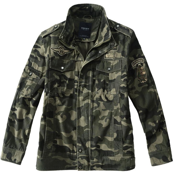 >> Click to Buy << Men Army Military Airborne Pilot Jacket Camouflage military uniform us army cargo multicam  militar tactical clothing #Affiliate