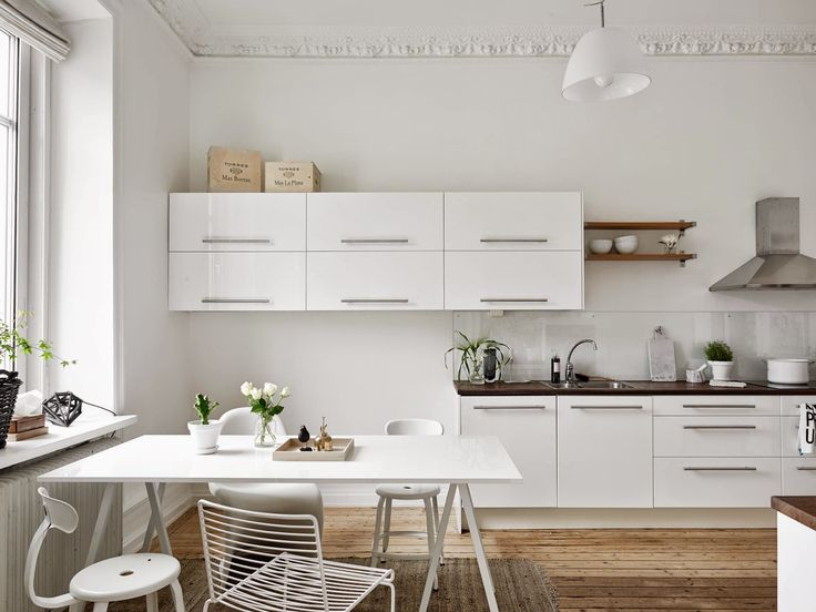 espai cuina-menjador. mobles baixos mobles alts