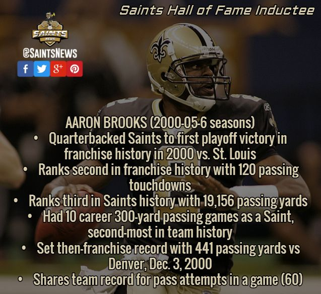 Aaron Brooks St Louis Images  Orleans Saints Players