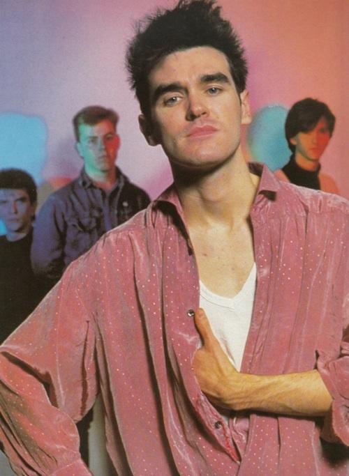 The Smiths ― photo by Anton Corbijn (1984).