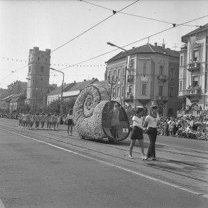 virágkarnevál 1973 Debrecen