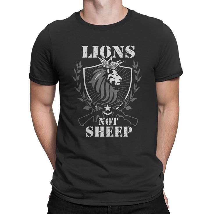 Lions Not Sheep Arm's Race