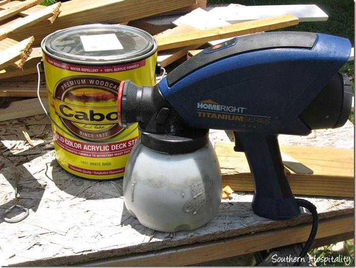 best images about paint sprayer project ideas on pinterest exterior. Black Bedroom Furniture Sets. Home Design Ideas