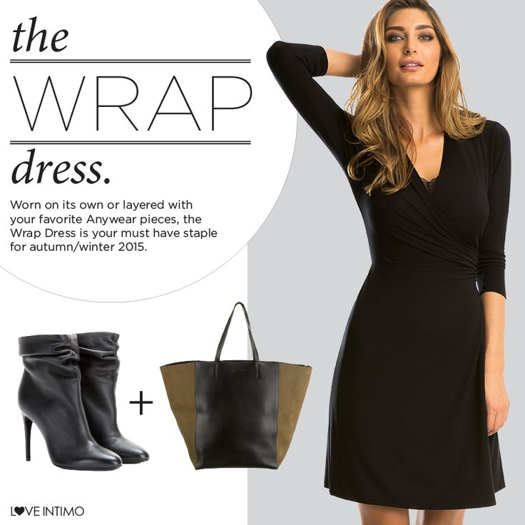 Have you seen the gorgeous Anywear Wrap Dress yet? Versatile and stylish, be sure to contact your Stylist to place an order before they all sell out!   www.intimo.com.au/shop/item/anywear-wrap-dress
