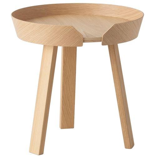 Houten bijzettafel van het Deense designlabel Muuto #scandinavian #table