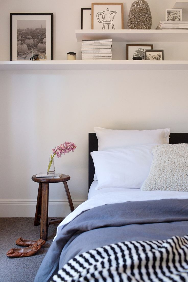 Bedside stool from Abode living. Adore Home magazine - Blog