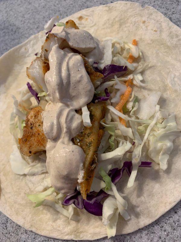 Sauce For Fish Tacos Recipe In 2020 Fish Tacos Fish Sauce Fish Taco Sauce