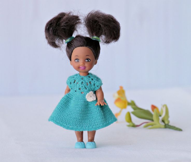 Crochet Mini Doll Clothes : 1000+ images about Kelly Doll clothes on Pinterest Doll ...