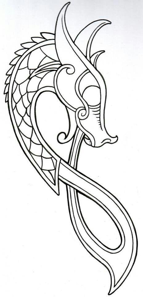 Dragón vikingo