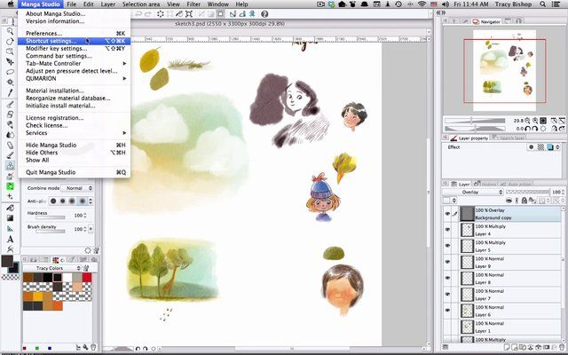 how to get clip studio paint to not lag