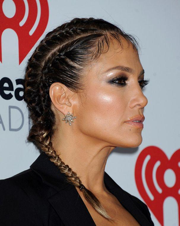Tendance coiffure le retour des tresses africaines coiffures jennifer lopez et cheveux - Tresse africaine facile ...