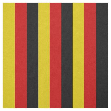 German flag colors red black yellow fabric - stripes gifts cyo unique style