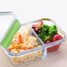"""Пищевых контейнеров бенту lunch box для пищевой ланч-боксов стекла с подогревом """"ланч-бокс"""" контейнеры для пищевых продуктов с отделениями для пикника хранения продуктов питания(China (Mainland))"""