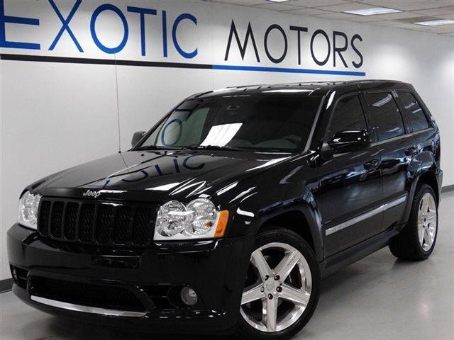 "2007 JEEP SRT-8 4WD NAV REAR-CAMERA PDC DVD-PKG HEATED-SEATS 20""WHEELS 420HP. http://www.exotic-motors.com/detail-2007-jeep-grand_cherokee-4wd_4dr_srt~8-used-13282131.html"