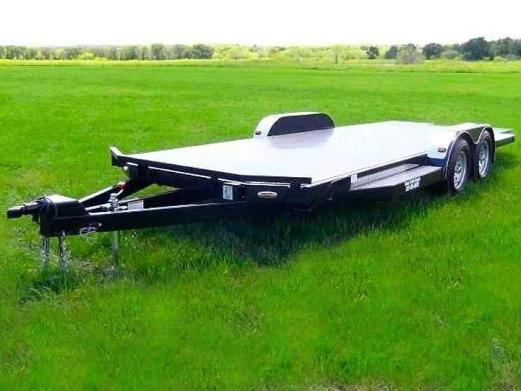 Car Hauler Trailer - Texas Trailer Supply  Model CHT0005 - Picture 1