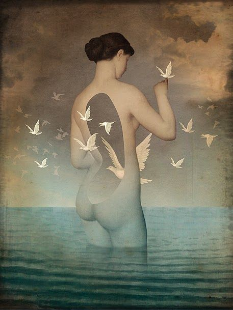 "Catrin Welz-Stein the lady is taken from the swiss painter Charles Gleyre. ""Sappho geht zu Bett"" (1867)"